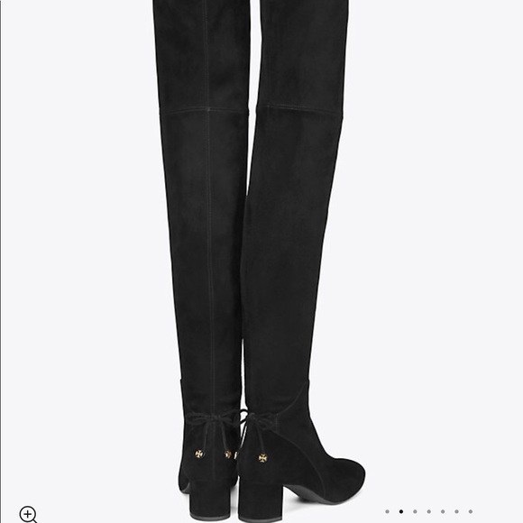 20095f773d5f05 Tory Burch Laila suede over the knee boots